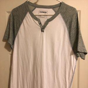 Express Men's Burnout Shirt